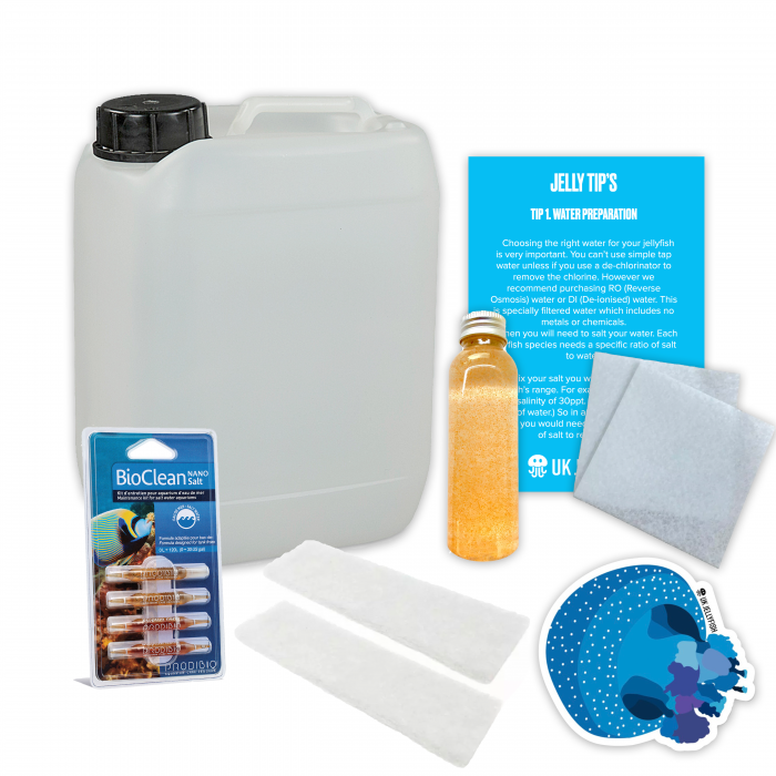 Jellyfish aquarium maintenance package